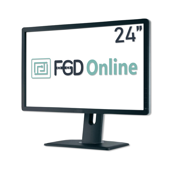 "24"" Refurbished TFT HD Monitor Top Brand Grade A"