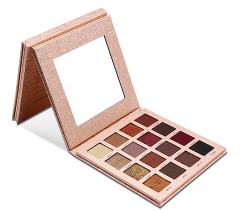 Shimmer Eye Shadow 16 Colors Palette Matte - Night Out Set