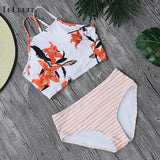 High Neck Bikini Set