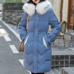 Down Jacket Woman - Other Colors - Faux Fur Hood