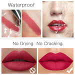 Waterproof Nude Lipstick - Many Color Options - Gloss