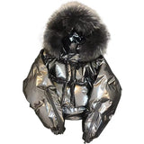Winter Parka New Fur Collar Coat