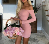 Off Shoulder Women Dress