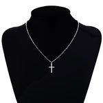 Cross Gold Necklace - Silver or Gold