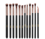 12pcs Eyeshadow Makeup Brushe Set Pro Rose Gold