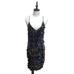 Mini Party Dress - Sequin