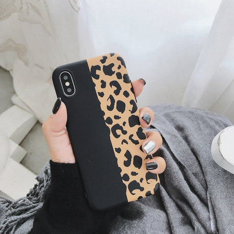Colorful Leopard Print Phone Case For iphone