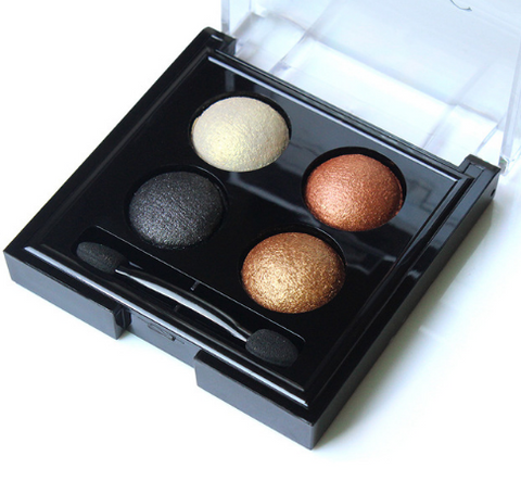 4 Colors Shimmery Waterproof Eye Shadow Palette - Other Color Palettes Available