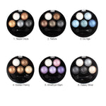 Metallic Shimmer Eye Shadow Palette - 5 Colors - Lincoln Set