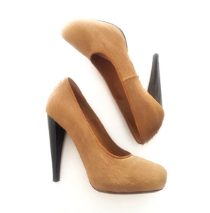 Pony Hair Pumps