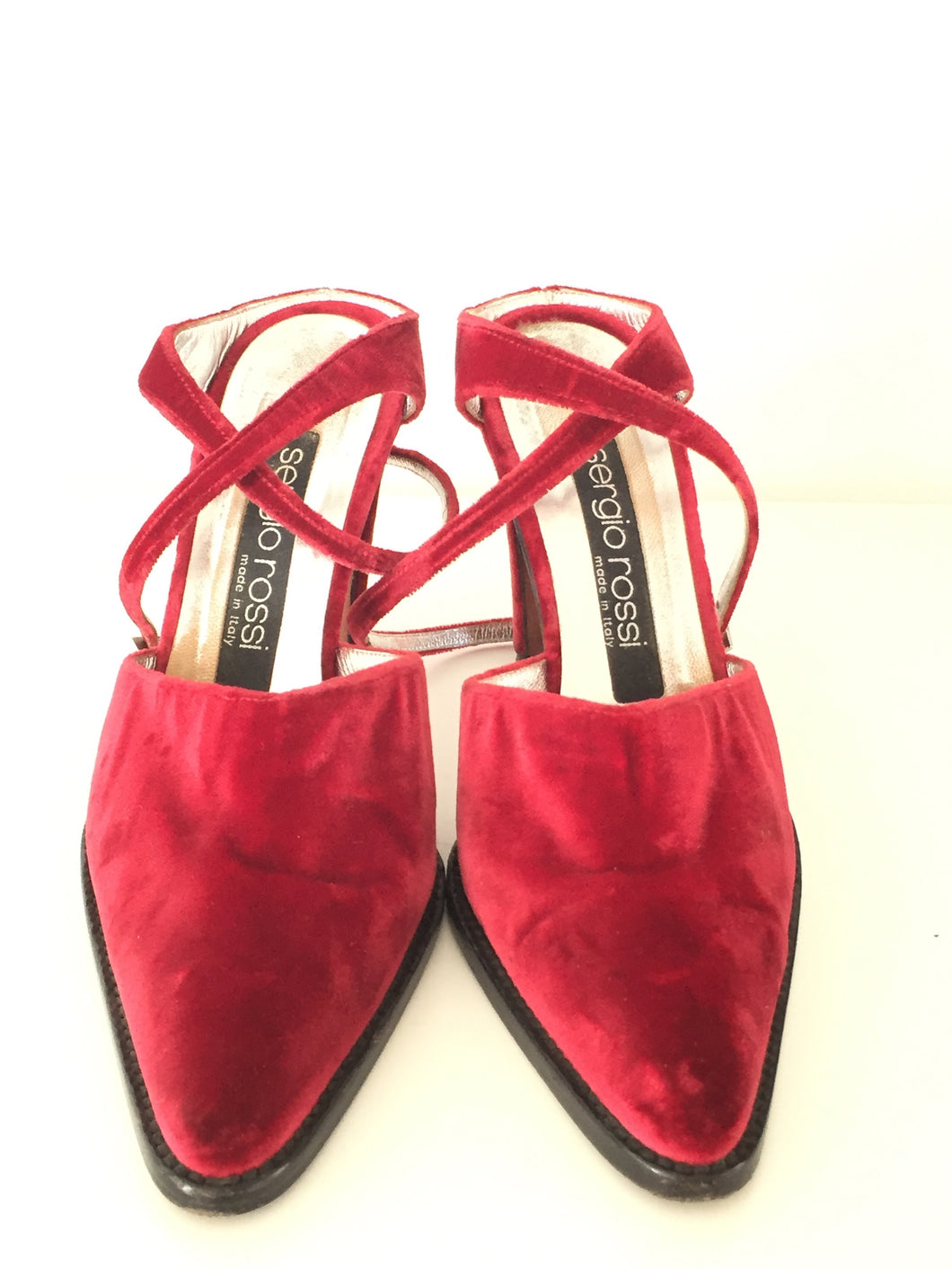 Sergio Rossi Velvet Shoes