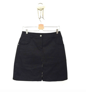 Burberry black skirt