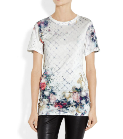 Balmain Flower T-shirt