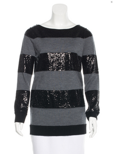 Sequins Wool Sweater