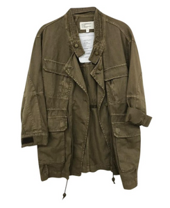 The Military Cotton Parka in Army