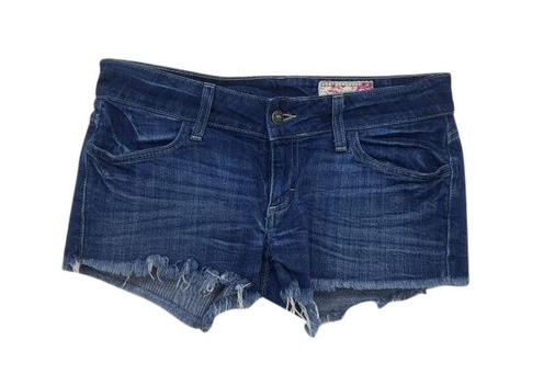 Siwy Frayed Jean Shorts