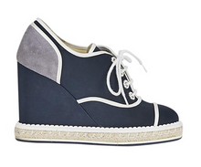 Load image into Gallery viewer, CC Espadrille Wedge Sneakers