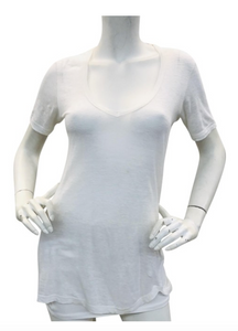 Isabel Marant White  Linen top Sz S