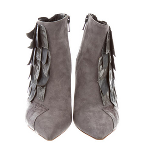 Chloe Pointed Booties