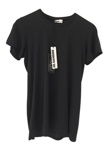 Jil Sander black tshirt new with tags