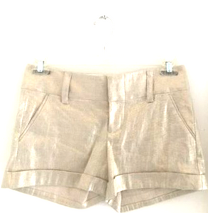 Soft Gold Shorts