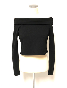 N / NICHOLAS LONG SLEEVE CROP TOP