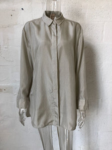 H&M Pure Silk Dress Shirt