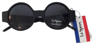 LE PECS Black Rounded Sunglasses