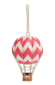 Flights of Fancy Hot Air Balloon clutch