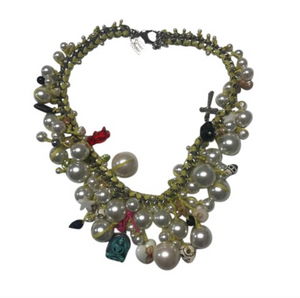 Peal Multi Charm Song Necklace