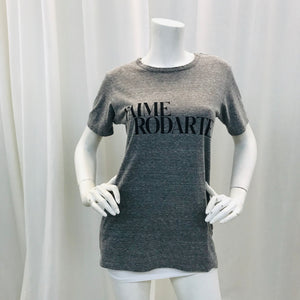 Rodarte  Grey  short sleeve  t-shirt  Sz  S