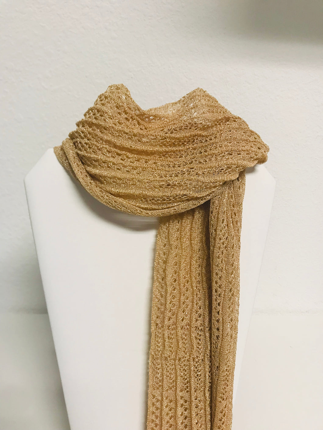 Chanel Nude  lace scarf