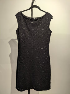 Moschino Black Dress Size 38