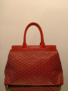 Goyard Red Goyardine Bellechasse GM Bag