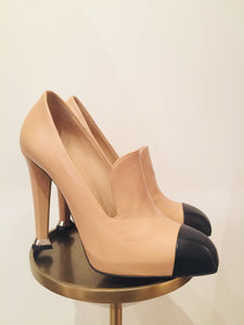 Chanel Multicolor Leather Pumps 37.5