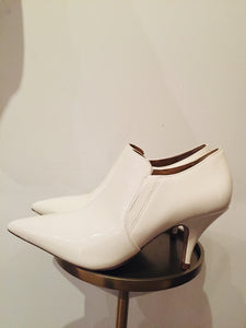Tory Burch Patent Leather Georgina Ankle Boots sz. 7