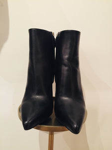 Prada Black pointed-toe ankle boots