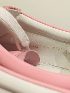 Givenchy Pink Leather Low-top Sneakers 40