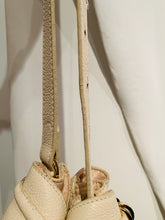 Load image into Gallery viewer, See by Chloe Creme Leather Vicki Bucket Bag