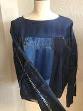 Load image into Gallery viewer, JT Denim Decon Jacket