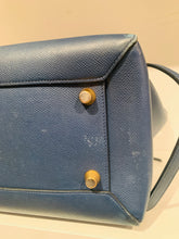 Load image into Gallery viewer, Céline Blue Leather Belt Bag