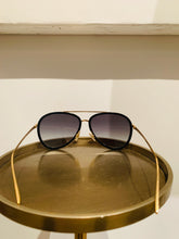 Load image into Gallery viewer, Fendi Black Aviator sunglasses