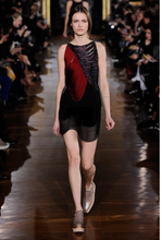 Load image into Gallery viewer, Stella McCartney Multicolor Fringe-Accented Cocktail Dress