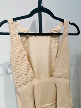 Load image into Gallery viewer, Tibi Nude Sleeveless Pleated Maxi Dress