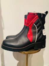 Load image into Gallery viewer, Zadig & Voltaire Multicolor Leather  Round-Toe Ankle Boots