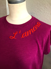 Load image into Gallery viewer, Jazmin Chebar Amore T-shirt