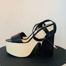 Load image into Gallery viewer, Chanel White Leather Platforms