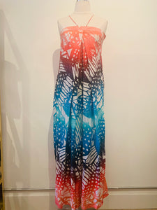Diane von Furstenberg Multicolor Sleeveless Maxi Dress