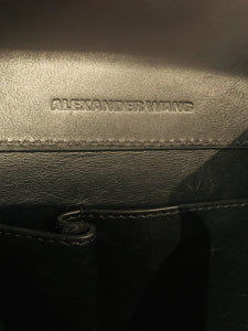 Alexander Wang  Black leather Prisma Tote