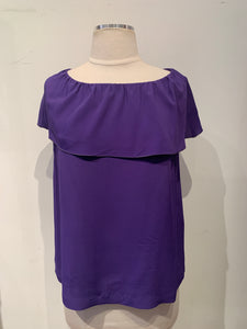 M Missoni Purple Top